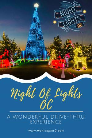 Night Of Lights OC- A Wonderful Drive Thru Experience