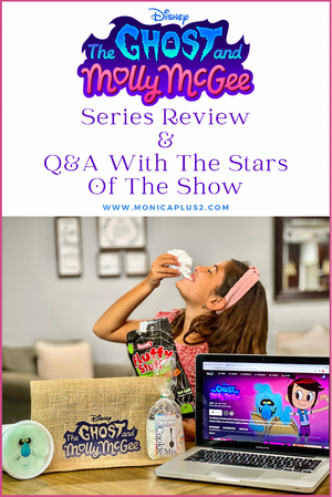 Disney The Ghost & Molly McGee. Series Review & Q&A With The Stars Of The Show