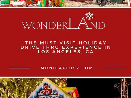 WonderLAnd! The Must Visit Holiday Drive Thru Experience In Los Angeles, CA