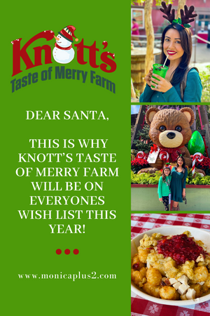 Dear Santa, This Is Why Knott's Taste Of Merry Farm Will Be On Everyones Wish List This Year!