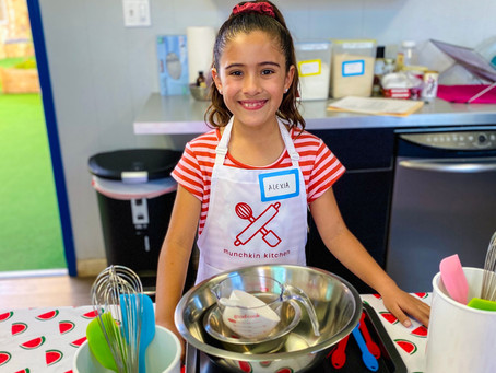 We Had A Sweet Time Baking at Munchkin Kitchen