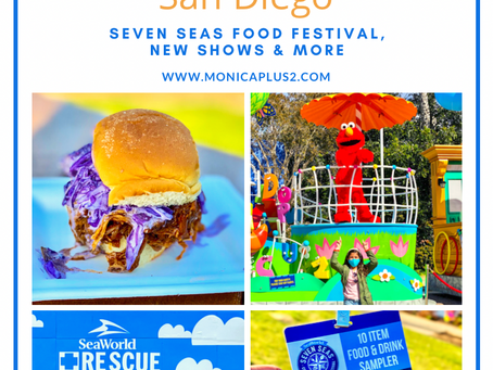 Complete Guide To SeaWorld San Diego! Seven Seas Food Festival, New Shows & More