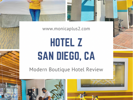 Hotel Z In San Diego, CA. Modern Boutique Hotel Review