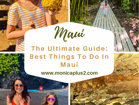 The Ultimate Guide: Best Things To Do In MAUI. Google Map Included