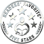 Readers' Favorite Five Stars silver badge.