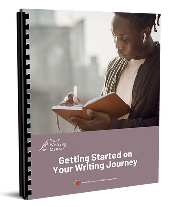Getting Started on Your Writing Journey