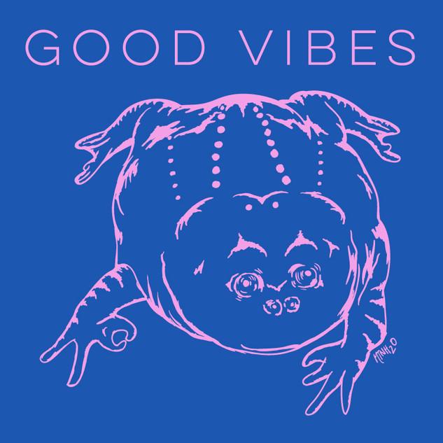 Good Vibes Frog