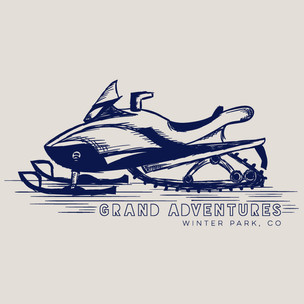 Snowmobile Drawing