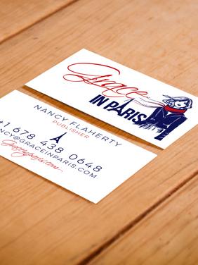 Grace in Paris Business Card