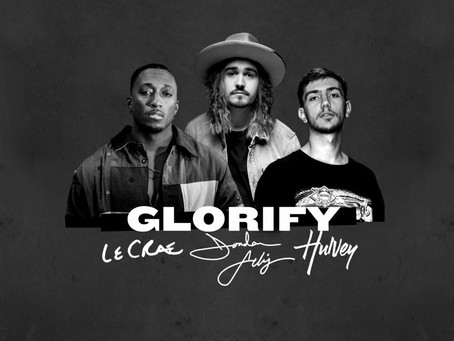 "JORDAN FELIZ JOINED BY LECRAE, HULVEY FOR ""GLORIFY"" REMIX"