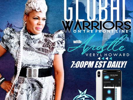 "Apostle Veryl Howard set to Launch ""Global Warriors On The Frontline"" on FAITH STAR RADIO Sep. 7"
