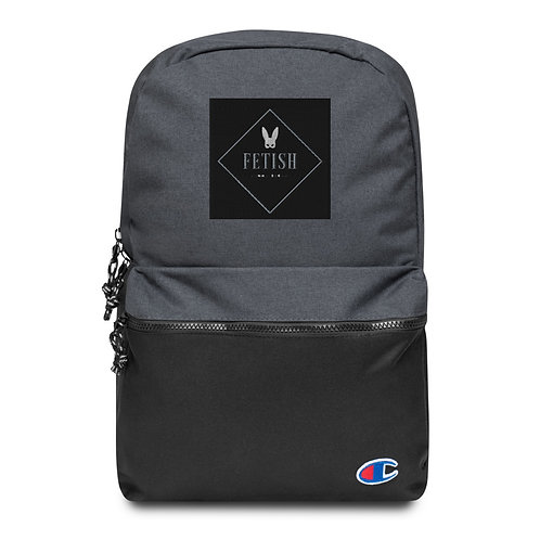Fet Connoisseur Embroidered Champion Backpack