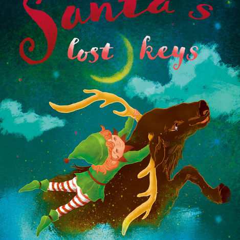 Santa's lost keys cover