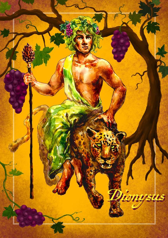 Greek gods - Dionysus