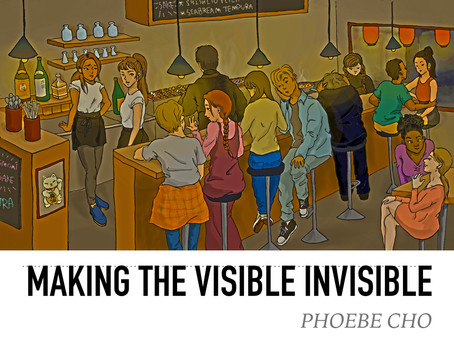 Making the visible invisible