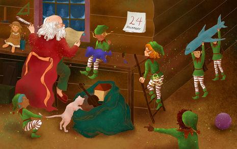 Santa's lost keys