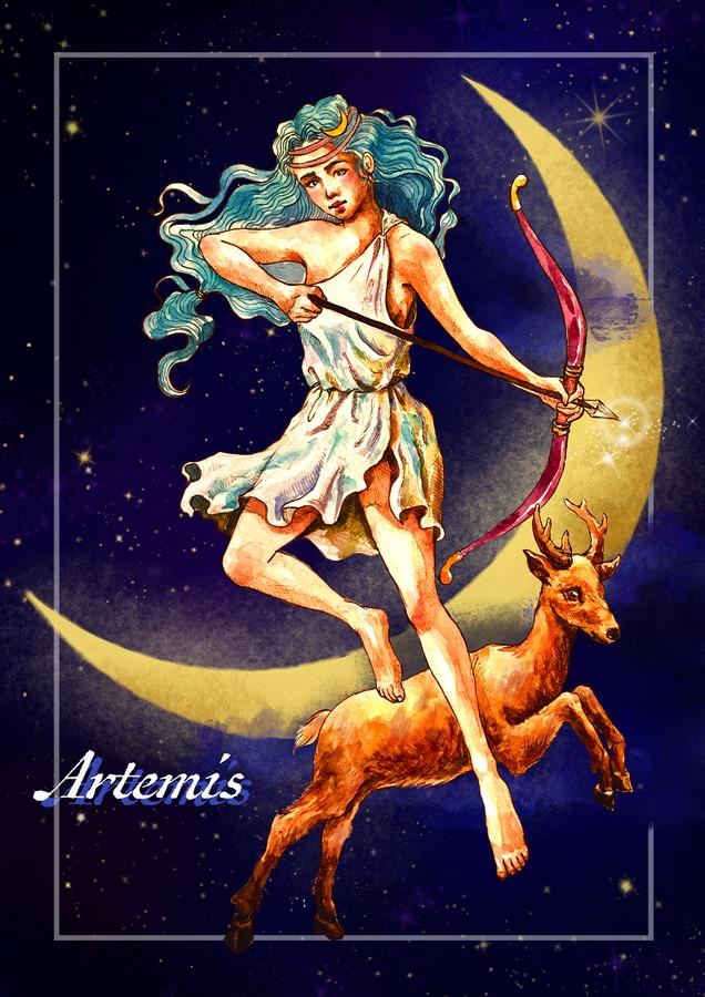Greek gods-Artemis