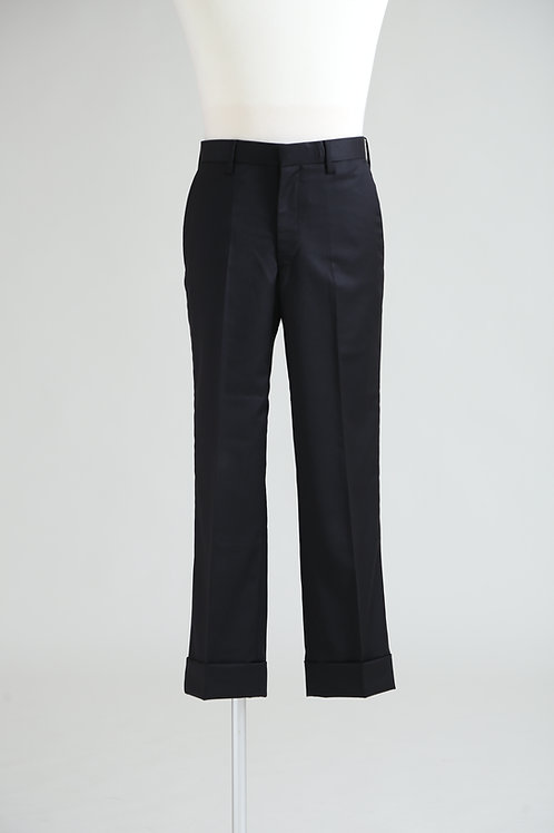 men's woven grosgrain pocket trousers