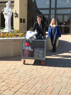 Collecting items from Saint Benedict