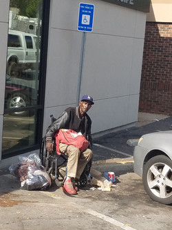 Helping the homeless in the West End