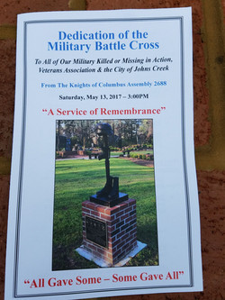 talk and convocation to the military battle 1
