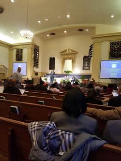 weekly meeting of black clergy of Atlanta 5