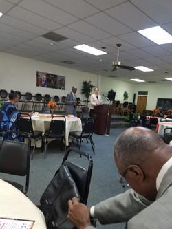 weekly meeting of black clergy of Atlanta 3