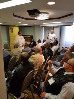 Yearly meeting with black Catholic men 4
