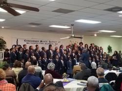weekly meeting of black clergy of Atlanta 7