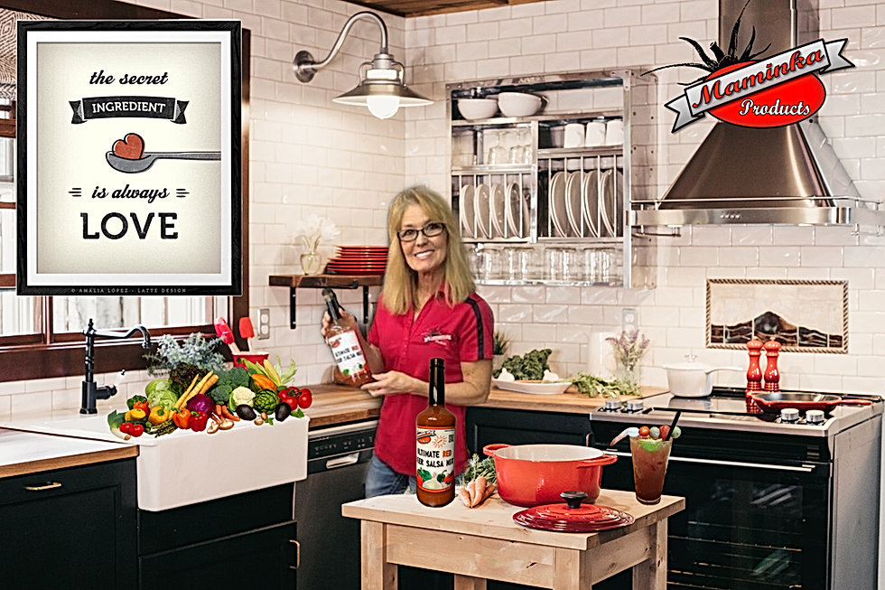 Cooking with Ultimate Red Beer Salsa Maminka Products