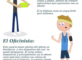 Siete Tipos de usuarios de Iphone