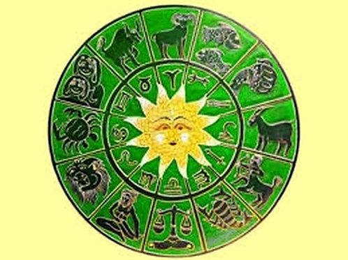 Curso Astrología II. América, On-line, pago inicial completo