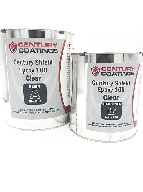 (Clear) Century Shield Epoxy 100 1 ½ Gallon