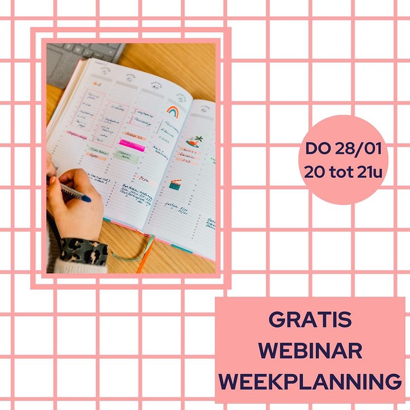 Gratis webinar: weekplanning