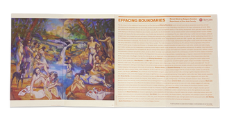 Effacing Boundaries Exhibition Catalog