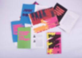 AIGA Philadelphia Design Awards 2008 Exhibition Catalog Invitation Brochure Graphic Design Aura GDLOFT