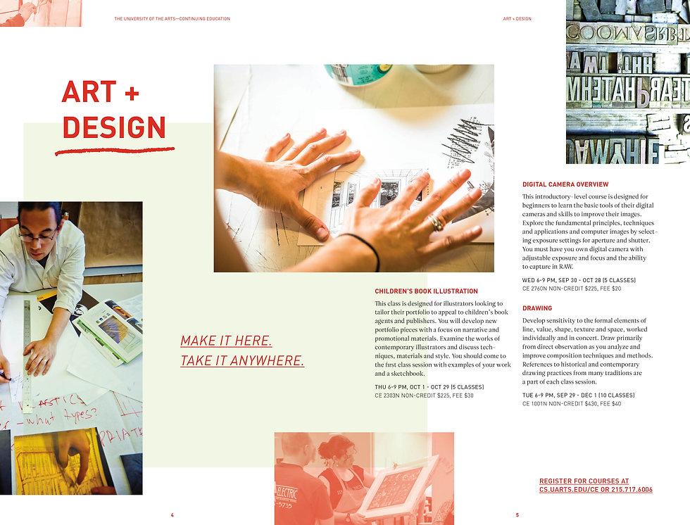 UARTS15003_ContinuingEd_Brochure_Fall201