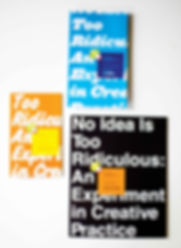 Pew Center Arts and Heritage No Idea is Too Ridiculous Catalog Graphic Design GDLOFT Can your design create a memorable message about your organization?
