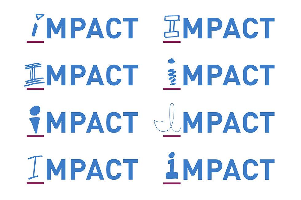 Graphic Design IMPACT Services Brand Identity GDLOFT Philadelphia