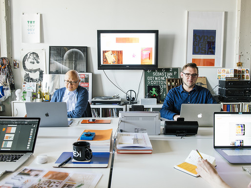 Acknowledging Our Acknowledgments: GDLOFT's feature in GDUSA and Awards won for Print Work