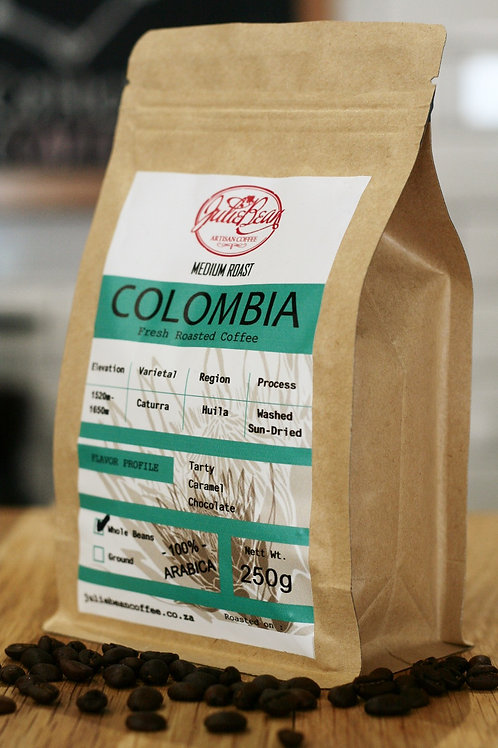 BEANS Colombia 250g SINGLE ORIGIN