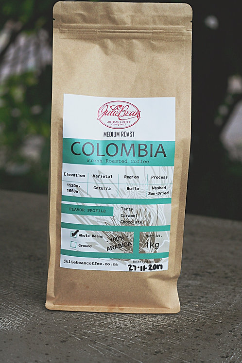 BEANS Colombia 1KG SINGLE ORIGIN