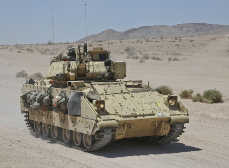 Countering Russia: US sending 100 troops, Bradleys to Syria