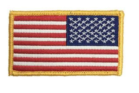 American Flag Patch Color