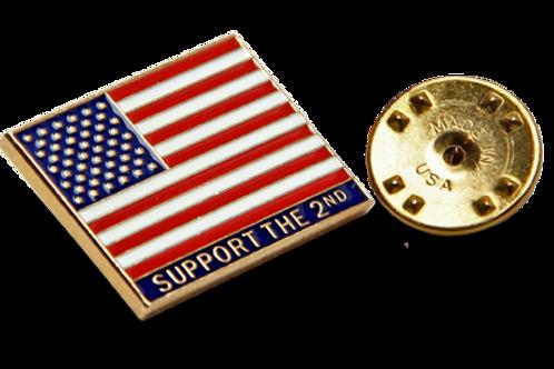 Support the Second Amendment Pin