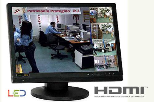 MONITOR PARA CFTV 24 POL HDMI