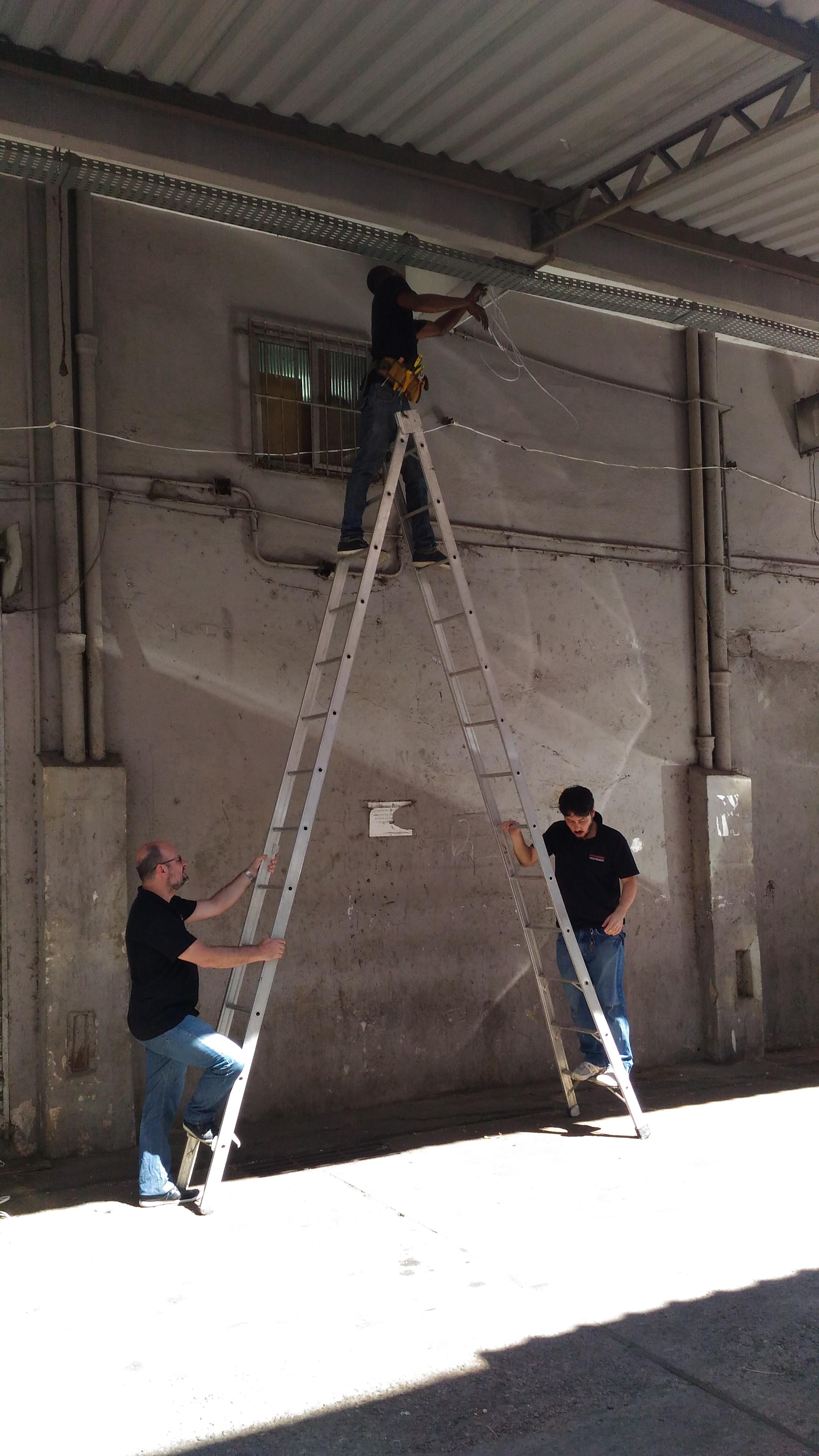Serviço de instalação CFTV