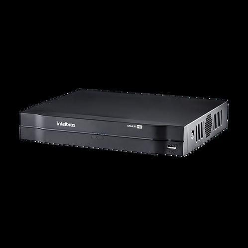 MHDX 1008 - GRAVADOR DIGITAL DE VÍDEO 08 CANAIS - INTELBRAS MULTI-HD® SÉRIE 1000