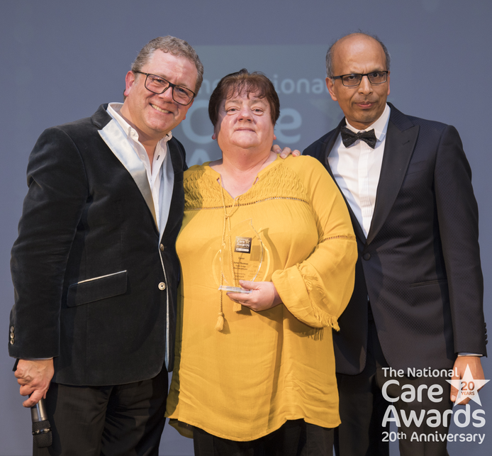 National Care Awards WINNERS - Carer of the year!