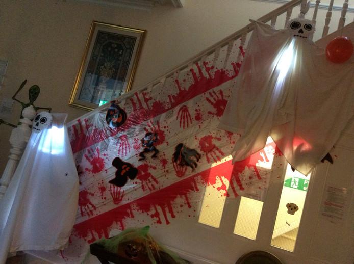 Halloween at Glen House